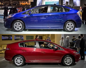 2010 Insight vs Prius